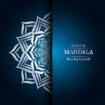 Creative luxury mandala