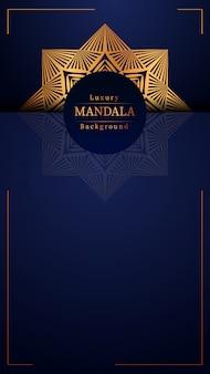 Creative luxury mandala