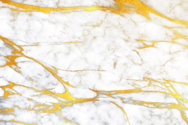 Creative marble background with golden details