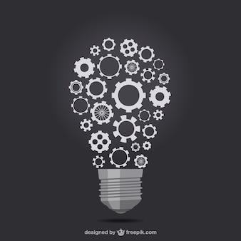 Творческий маркетинг простая иллюстрация