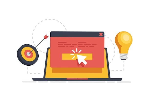 Creative marketing, virtual communication