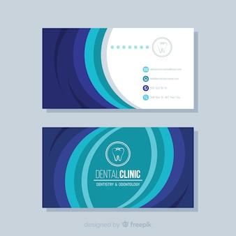 Design creativo biglietto da visita medico