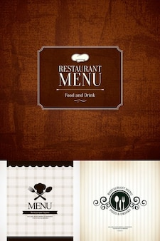 Creative menu covers