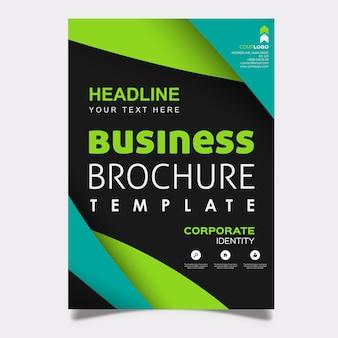 Creative modern brochure design template