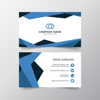 Creative modern business card