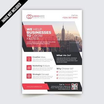 Creative modern corporate business flyer template design