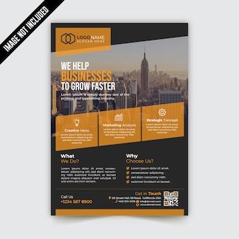 Creative modern corporate business flyer template