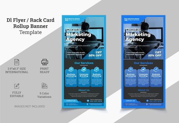 Creative modern corporate dl flyer design dl flyer design pink business template for dl flyer