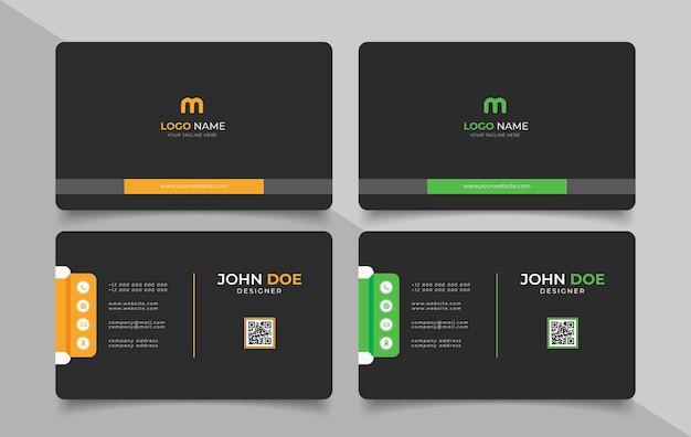 Creative modern name card and business card