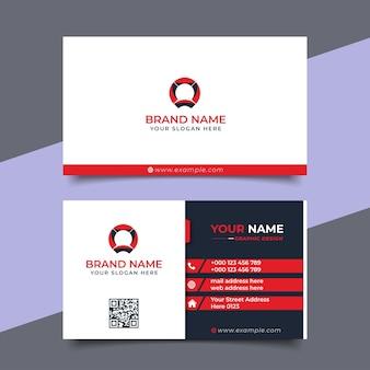 Creative modern professional business card vector design