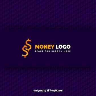 Creative money logo concept