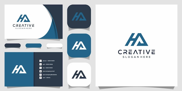 Creative monogram, m combined with b logo designs template
