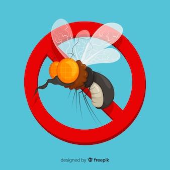 Творческий дизайн комаров