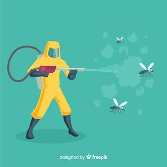 Creative mosquito control design