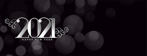 Carta creativa del nuovo anno per auguri o inviti