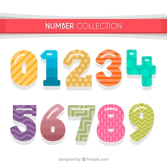 Creative number collection