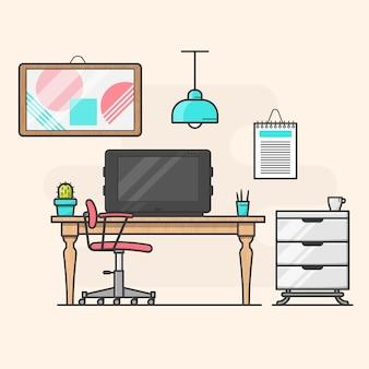 창조적 인 사무실
