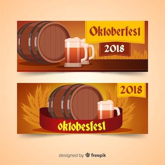Creative oktoberfest banners