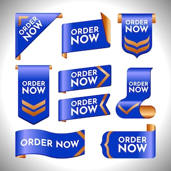 Creative order now stickers pack