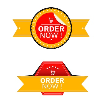 Creative order now stickers