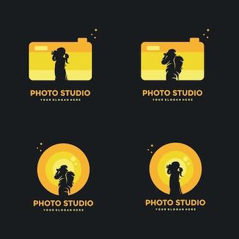 Creative photography design concepts logos