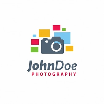 Creative photography logo template