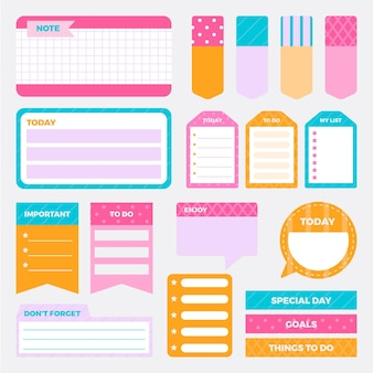 Creative planner scrapbook collection