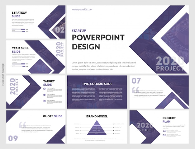 Creative powerpoint template for  business strategy