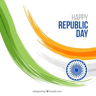 Creative republic day design