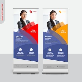 Creative rollup banner design