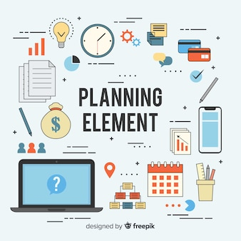 Creative sample of planning elements
