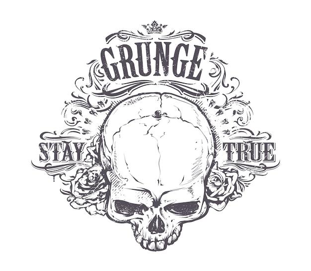 Creative skull design