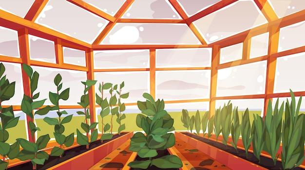 Creative smart farming background