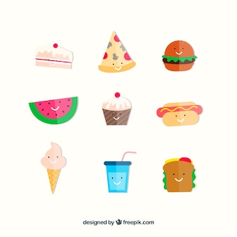 Creative snack set