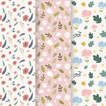 クリエイティブな春のパターンコレクション