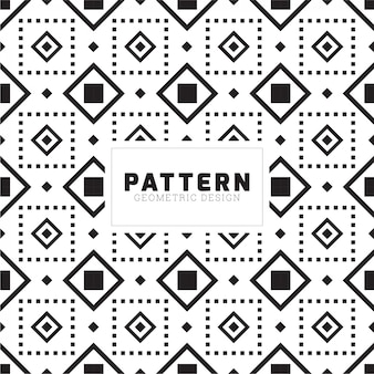 Creative square seamless pattern design