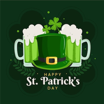 Creative st. patrick's day illustration