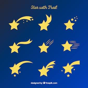Creative star trail set