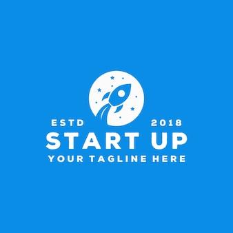 Creative start up logo design
