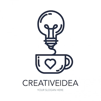 Creative success idea logo