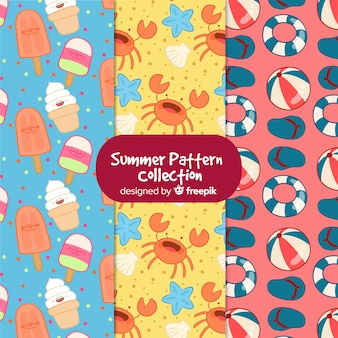 Creative summer pattern collectio
