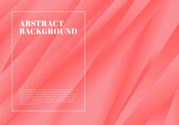 Creative template abstract pink stripe background