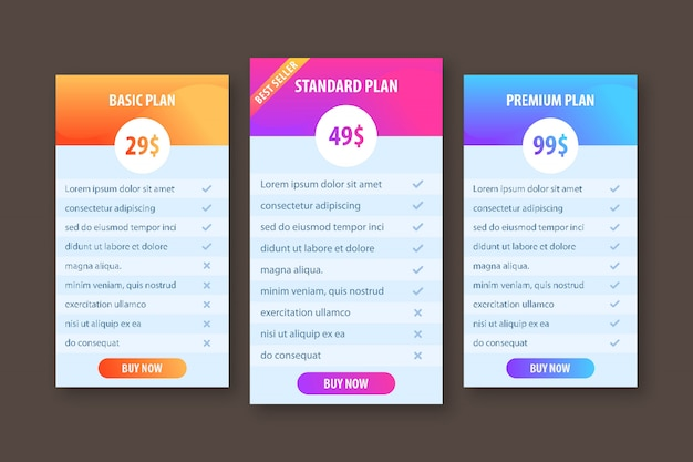 Creative template for business plan