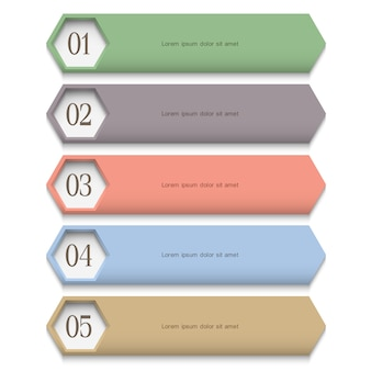 Creative  template in pastel colors
