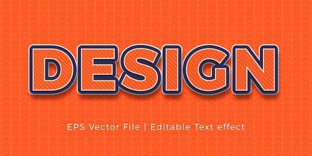 패턴 배경으로 창의적인 텍스트 효과 디자인