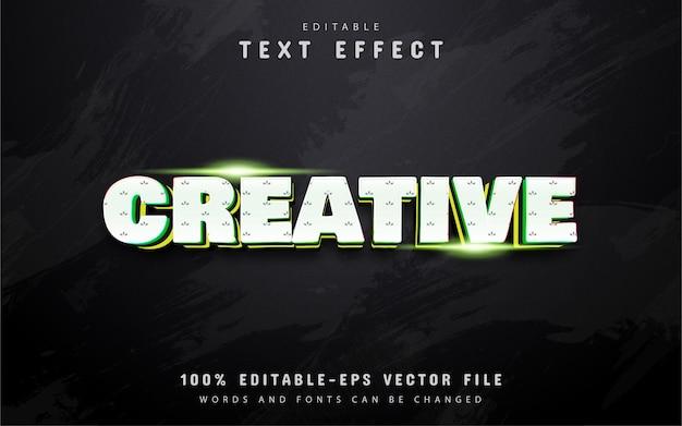 Creative text effect design