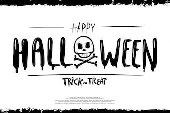 Creative Text Of Happy Halloween