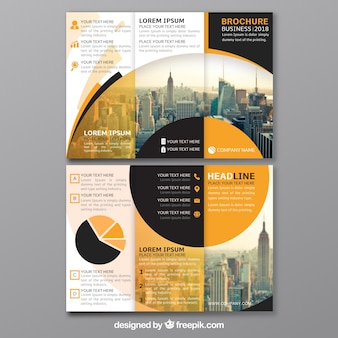 Trifold brochure vectors photos and psd files free download for 6 page brochure template