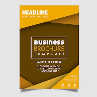 Creative Vector Brochure Designs