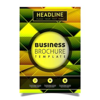 Creative Vector Brochure Template Design